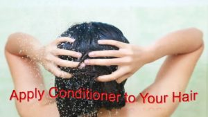 Conditioning Your Hairs